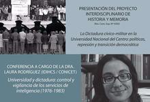 """""""Historia y memoria. La universidad del Centro entre 1975 y 1986"""""""