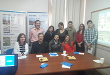 Unicen entregó material institucional a estudiantes de intercambio