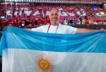 Profesor de Unicen designado por la Federación Internacional de Atletismo