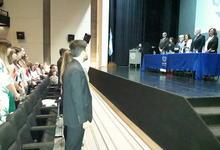 Nuevos graduados y distinciones por 25 años de servicio en UNICEN