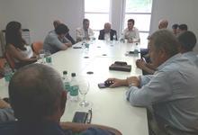 Ministro de Producción se reunió con Rector y Decanos de UNICEN