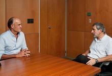 Reunión del Director de Conicet Tandil con Ministro de Ciencia y Tecnología