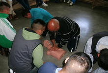 Curso de primeros auxilios en unidades penitenciarias