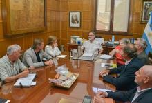 Integrantes de AUDEAS se reunieron con el Ministro de Agricultura