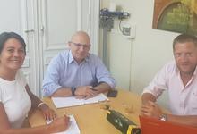 Reuniones y agenda común por Bicentenario y Emprendedorismo