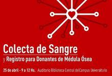 Colecta donación de sangre organiza: ATUNCPBA y ADUNCE