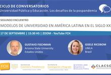 Conversatorios Universidad Pública y Educación. Desafíos de pospandemia