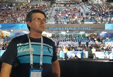 Deportistas de UNICEN en apertura de la Universiada de Nápoli