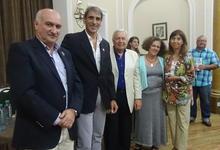 Fotogalería: imágenes de reconocidos junto a las autoridades
