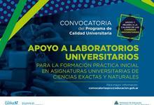 Apoyo a laboratorios universitarios destinados a la formación