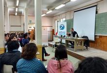 Responsable de Editorial Unicen dio charla en Quequén