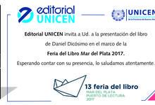 Editorial UNICEN en la XIII Feria del Libro de Mar del Plata