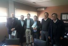 Acuerdo de cooperación y charla del INCaP en Económicas