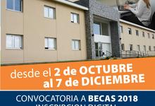 Inscripción a las Becas de Residencias  Convocatoria 2018