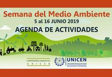 Extensión: actividades por la semana del ambiente