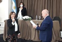 Rector y Vicerrectora asumieron sus cargos al frente de UNICEN