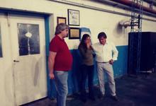 La Barrial homenajeó a un reconocido vecino de Villa Aguirre