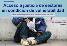 Derecho dará talleres de acceso a justicia en el CCU Olavarría