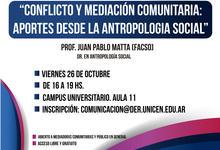 Capacitación sobre conflicto y mediación comunitaria