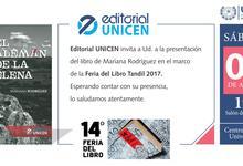 """Editorial presenta flamante libro: """"El alemán de La Elena"""""""