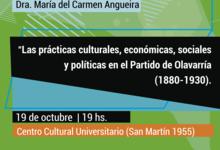 Charla sobre prácticas locales en los 30 años de Ciencias Sociales