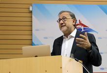 Scolari inauguró el ENACOM y fue reconocido como profesor visitante