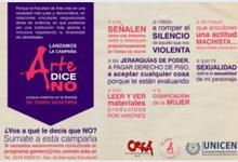 """Lanzamiento de la Campaña """"Arte dice NO"""""""
