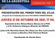 Tomo Calidad de Vida I, del Atlas Histórico y Geográfico de Argentina