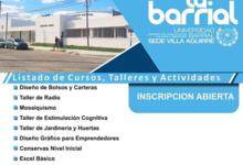Universidad Barrial lanza inscripción a talleres gratuitos del 2do cuatrimestre