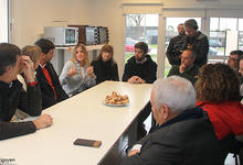 Ministro de Educación visitó la nueva residencia