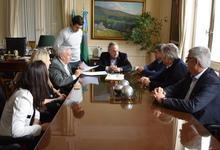 Municipio, Unicen y Cepit firmaron acuerdo para fortalecer al software