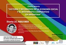 Charla abierta sobre historia de la economía social