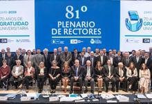 Consejo Interuniversitario Nacional eligió nuevas autoridades