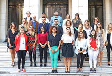 Profesionales en Ciencias Sociales recibieron sus títulos universitarios