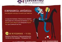 Desde las 19 en el CCU: Don Quijote, charla y dibujos de Rep