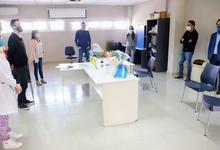 Centro de Innovación Ciudadana de Exactas entregó protectores faciales