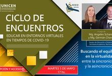 """250 docentes en """"Educar en entornos virtuales, tiempos de COVID -19"""""""