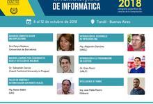 Inscripción para la Escuela Internacional de Informática 2018