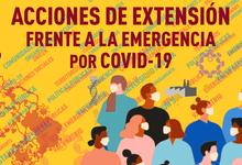 Nueva convocatoria a acciones de extensión frente a la pandemia