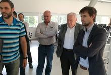 Jefe de Gabinete de Educación visitó campus Tandil de UNICEN