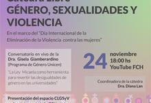 Cátedra Libre de Género, Sexualidades y Violencia de la FCH