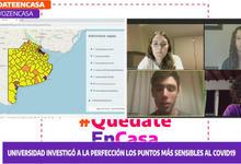 """Aportes """"Geotecnológicos  a la emergencia Covid -19""""en la Tv Pública"""
