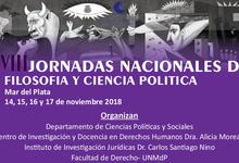 XVIII Jornadas Nacionales Ciencia y Filosofía Política