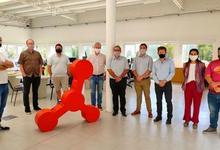 Comitiva de INET visitó instalaciones universitarias de capacitación virtual