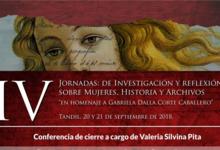 IV Jornadas de Investigación sobre Mujeres, Historia y Archivos