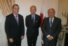 Embajador polaco recibió a Tassara y dará charla en Tandil