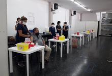 Ya funcionan vacunatorios en Centro Cultural y Universidad Barrial