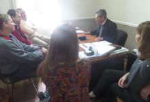Miembros de Rotary visitaron la UNICEN