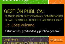 """""""Planificación y comunicación para el desarrollo de entidades públicas"""""""