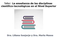 Enseñanza de disciplinas científico-tecnológicas en Nivel Superior